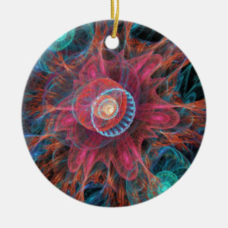Abstract Jellyfish Ornament
