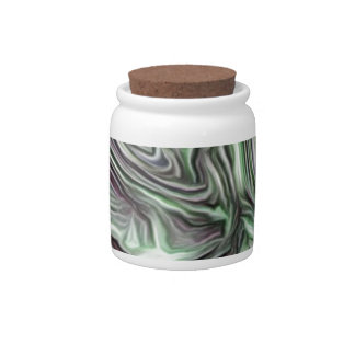 abstract joy, soft colors candy jar
