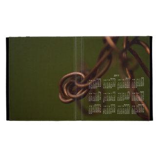 Abstract Junk; 2013 Calendar iPad Folio Covers