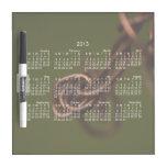 Abstract Junk; 2013 Calendar Dry-Erase Boards