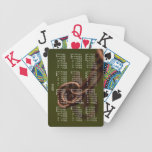Abstract Junk; 2013 Calendar Poker Cards