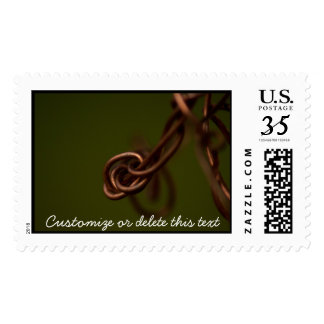 Abstract Junk; Customizable Postage
