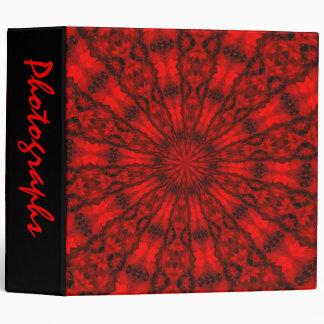 "Abstract Kaleidoscope 2"" Photo Album Binder"