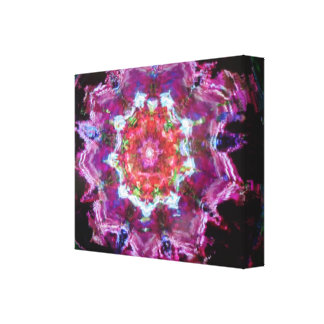 Abstract Kaleidoscope Stretched Canvas Print