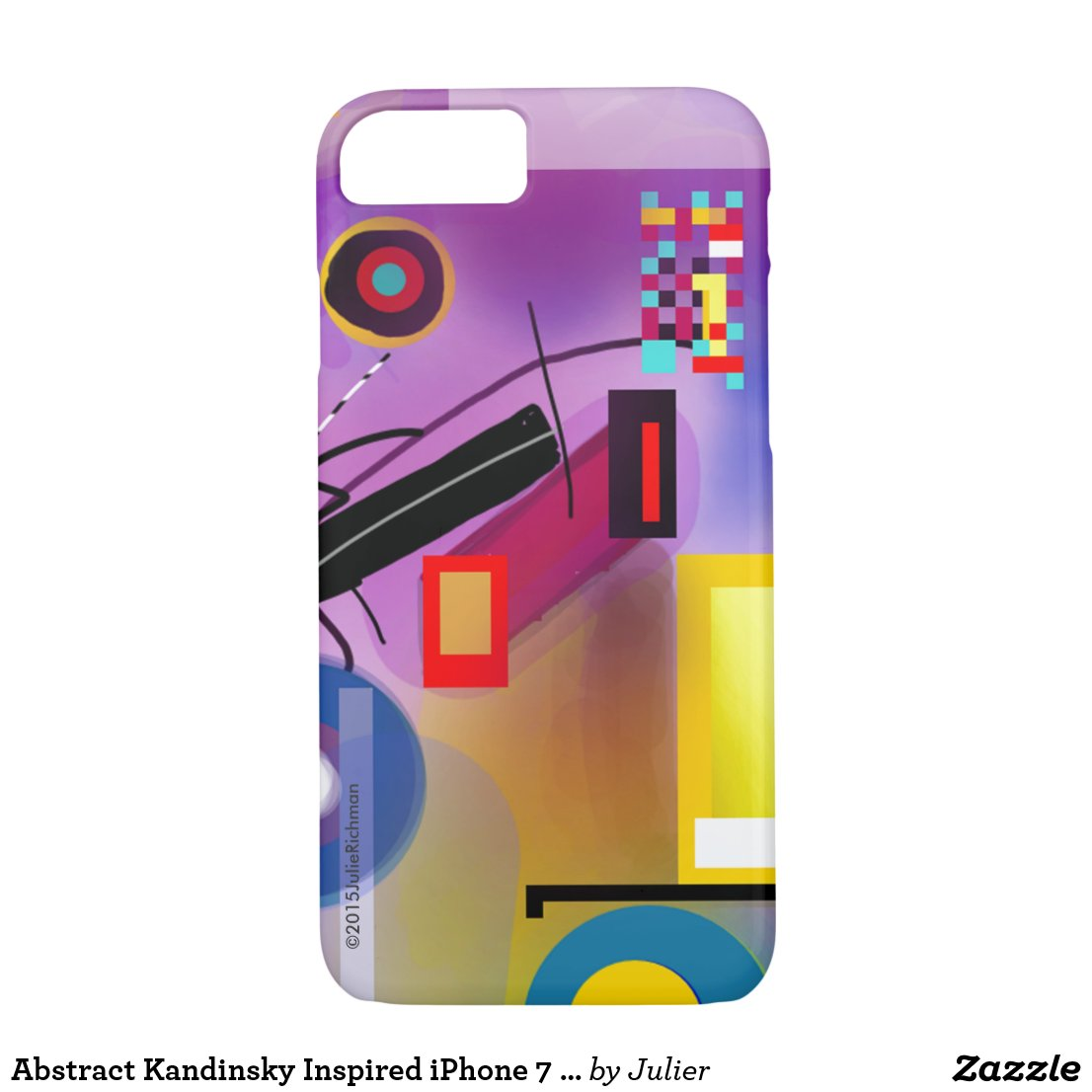 Abstract Kandinsky Inspired iPhone 7 case