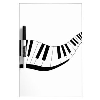 Abstract Keyboard Dry-Erase Board