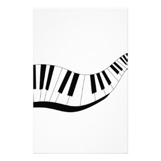 Abstract Keyboard Stationery