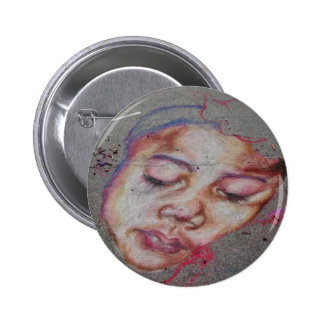 Abstract Kid 2 Inch Round Button