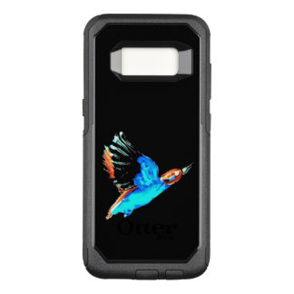 Abstract Kingfisher Bird in Flight OtterBox Commuter Samsung Galaxy S8 Case