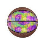 Abstract Kisses Basketball