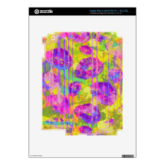 Abstract Kisses Decals For iPad 3