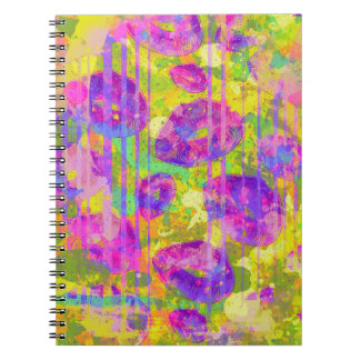 Abstract Kisses Notebook