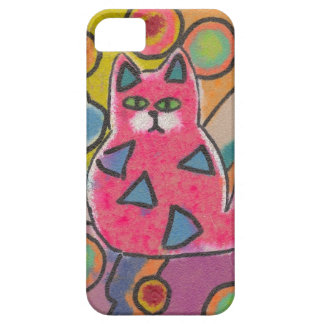 Abstract kitty iPhone case iPhone 5 Cover
