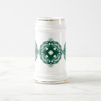 Abstract Knotwork 18 Oz Beer Stein