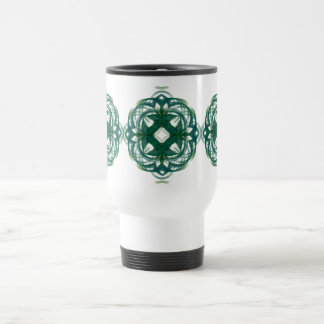 Abstract Knotwork 15 Oz Stainless Steel Travel Mug