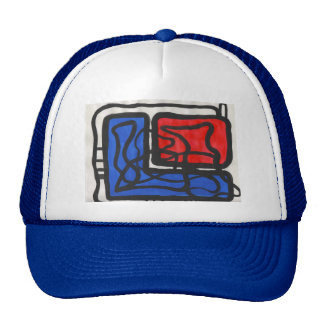 """ABSTRACT """"L"""" TRUCKER HAT"""