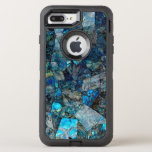 """Abstract Labradorite OtterBox Defender iPhone 8 Plus/7 Plus Case<br><div class=""""desc"""">This image is a photograph of three-dimensional art made of labradorite,  a semi-precious stone. Due to labradorite&#39;s recent surge in popularity among jewelry artists and fans alike,  this should be popular with all types of people who love natural beauty.</div>"""