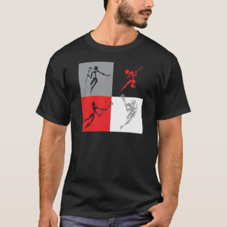 Abstract Lacrosse T-Shirt
