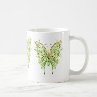Abstract Lacy Butterflies Coffee Mug