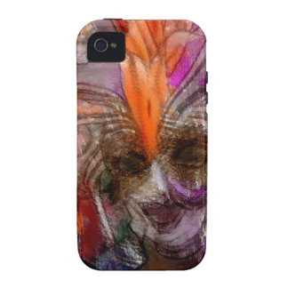 Abstract Lady Festival Inspired Art iPhone Case Vibe iPhone 4 Case