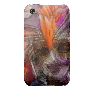 Abstract Lady Festival Inspired iPhone 3G/3GS Case iPhone 3 Case-Mate Case