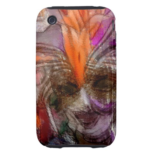 Abstract Lady Festival Inspired iPhone 3G/3GS Case