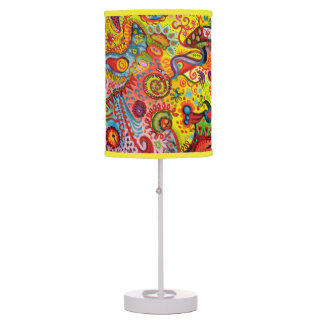 Abstract Lamp - Psychedelic Colorful Lampshade