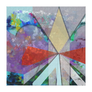 Abstract Land Canvas Print