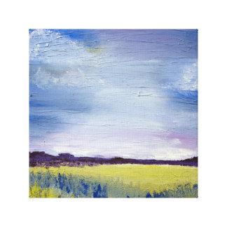 Abstract landscape artwork/canvas canvas print