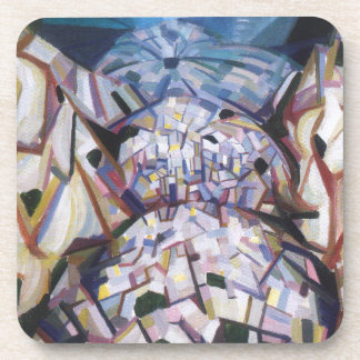 Abstract Landscape by Oleksandr Bogomazov Drink Coaster
