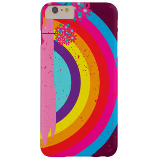 Abstract Landscape Cartoon rainbows Barely There iPhone 6 Plus Case