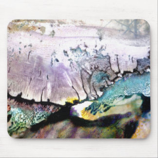 Abstract landscape mouse pad