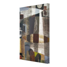 Abstract Landscape of Potosi Bolivia 20.3 x 28.9 Canvas Prints