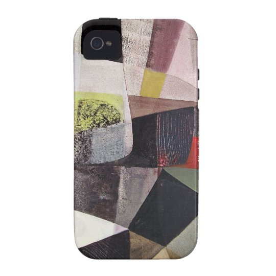 Abstract Landscape of Potosi Bolivia 32.3x21.6 Vibe iPhone 4 Case