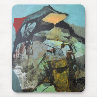 Abstract Landscape of Potosi Bolivia Mouse Pad