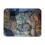 Abstract Landscape of Potosi Bolivia Vinyl Magnets