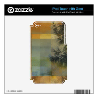 Abstract Landscape One iPod Touch 4G Decals