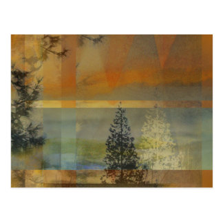 Abstract Landscape Two Postcard