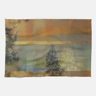 Abstract Landscape Two Towel
