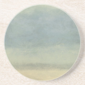 Abstract Landscape with Overcast Sky Beverage Coaster