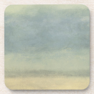 Abstract Landscape with Overcast Sky Beverage Coasters