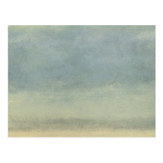 Abstract Landscape with Overcast Sky Postcard