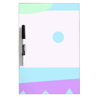 Abstract Lanscape with Blue Moon Dry Erase Board