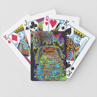 Abstract Lappenpop Doll Bicycle Playing Cards
