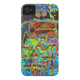 Abstract Lappenpop Doll iPhone 4 Cases