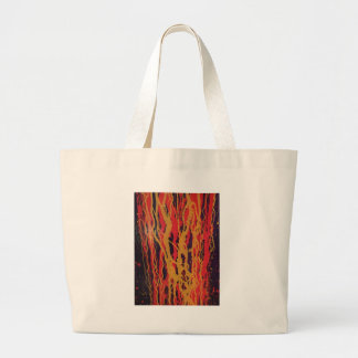 Abstract Large Tote Bag