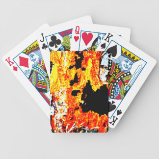 """Abstract """"lava"""" poker cards"""