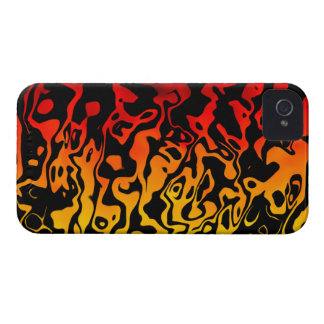 Abstract Lava Swirl Case-Mate iPhone 4 Case