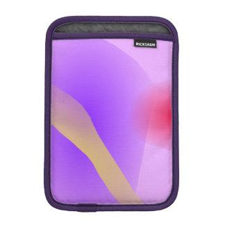 Abstract Lavender iPad Mini Sleeve