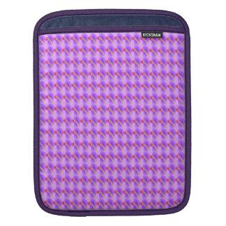 Abstract Lavender iPad Sleeves
